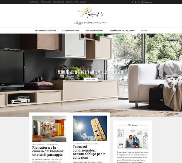 Prime Home Blog Schermata
