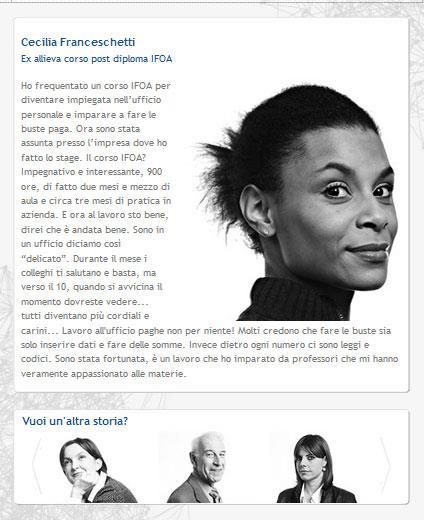come creare un sito esempio Ifoa
