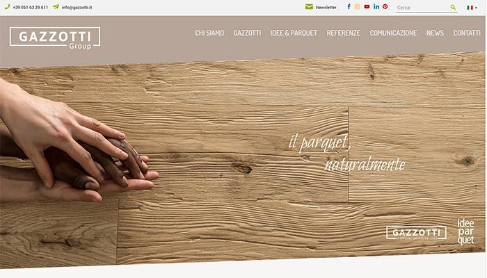 Nuovo sito Gazzotti Group