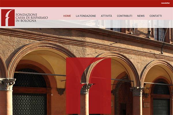 Fondazione Carisbo nuovo sito