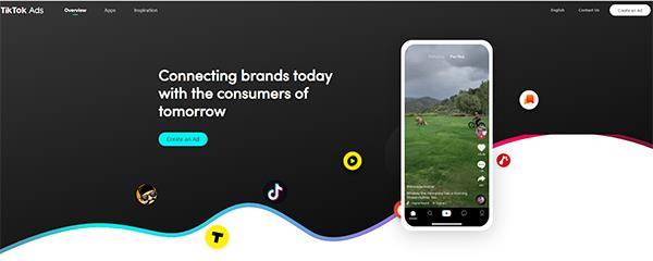 TikTok Ads schermata