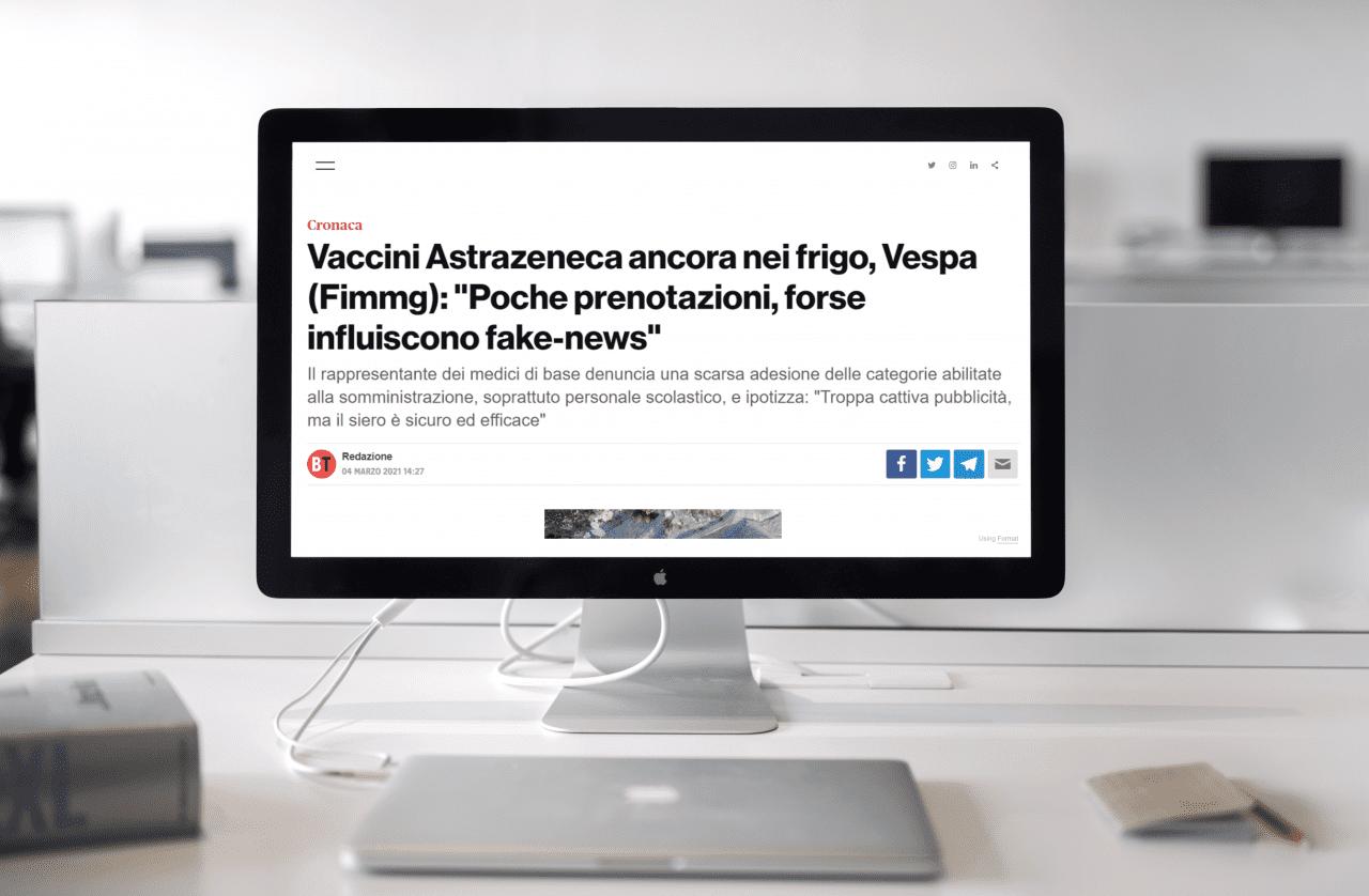 fake news su Astra Zeneca